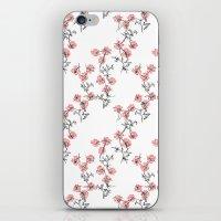 X Flowers iPhone & iPod Skin