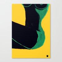 Swimmer #3 Canvas Print