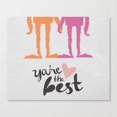 Your the Best Sasquatch  Canvas Print