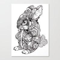BUN EY Canvas Print