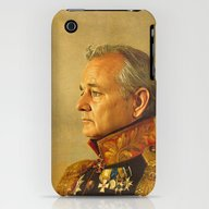 Bill Murray - Replacefac… iPhone (3g, 3gs) Slim Case