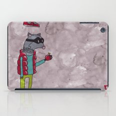 006_raccoon iPad Case