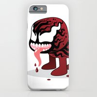 iPhone & iPod Case featuring CARNAGE ROBOTIC by We are Robotic