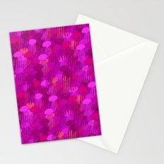 Jellyfish Pink Stationery Cards