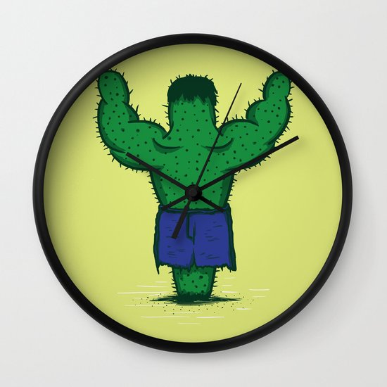 The Incredible Hulktus Wall Clock