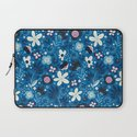 Blue Meadow Laptop Sleeve