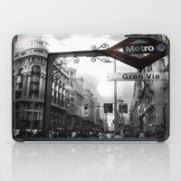 Gran Via-Madrid iPad Case