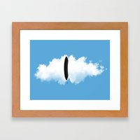 Cloud Matter Framed Art Print
