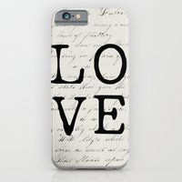 iPhone & iPod Case featuring love by Beverly LeFevre