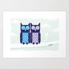 What a hoot! Art Print