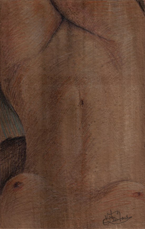 Ventre Canvas Print