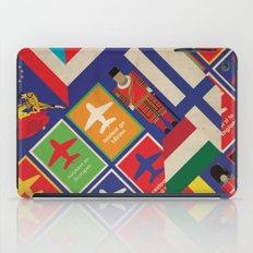EU Travel Poster iPad Case