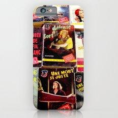 Paris Flea Market Books iPhone 6 Slim Case