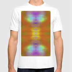 Rainbow drugs Mens Fitted Tee White SMALL