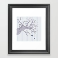 Cold Cold Heart Framed Art Print