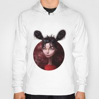 Caricature for a Bjork Hoody