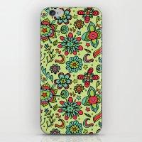 Flower Power. iPhone & iPod Skin
