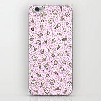 Dessert Doodle iPhone & iPod Skin