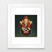 Bandanlamu Framed Art Print