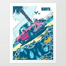 Siesta Beach 2 Art Print
