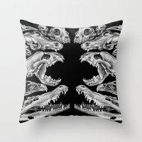 Carnivores Throw Pillow