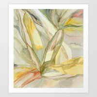 botanical inspiration 2 Art Print