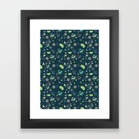 Micro-organisms Framed Art Print
