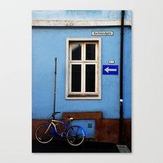 Bjerkelundgata's blues Canvas Print