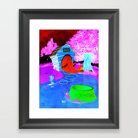 Eleghant Framed Art Print