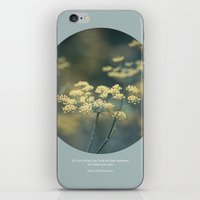 Stop And Stare iPhone & iPod Skin