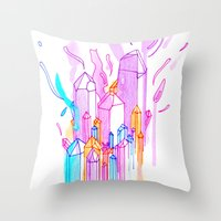 Gamamede Throw Pillow