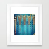 love your tools Framed Art Print