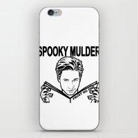 Spooky Mulder Trust No O… iPhone & iPod Skin