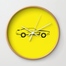 Mustang Boss Wall Clock