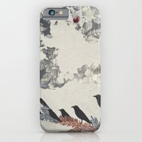 iPhone & iPod Case featuring The Carrion Crow 2 by kyomi2735