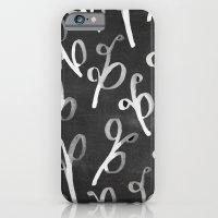 Leaves Chalkboard iPhone 6 Slim Case