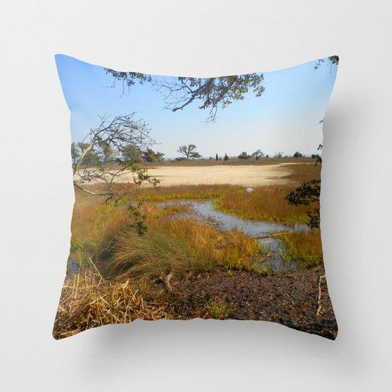 Beautiful Swamp Throw Pillow