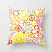 BOLD & BEAUTIFUL sunshine Throw Pillow