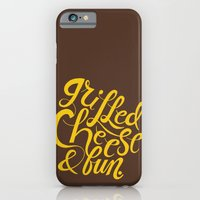 iPhone & iPod Case featuring Grilled Cheese & Fun by Chris Piascik