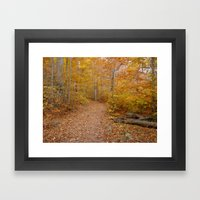Color Framed Art Print
