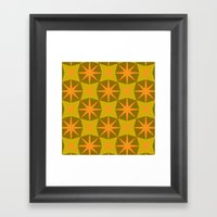 modcushion 3 Framed Art Print