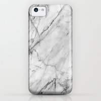 iPhone 5c Case featuring Marble by Patterns and Textures