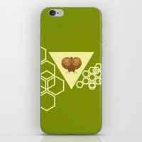 Geometric Snail iPhone & iPod Skin