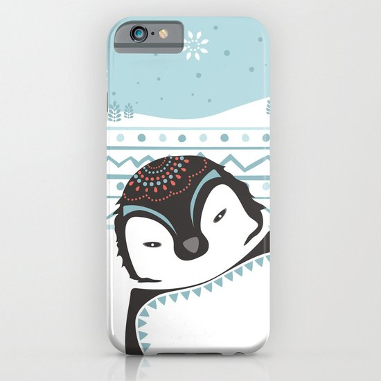 Messer Pinguino iPhone & iPod Case