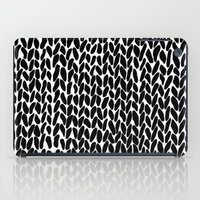 Hand Knitted Black S iPad Case