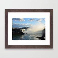 Niagara Waterfall Framed Art Print