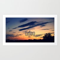 You. Me. All. Together. Art Print