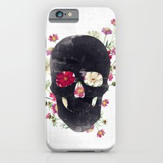 Skull Grunge Flower iPhone 6 Slim Case