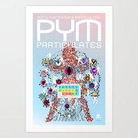 PYM PARTICULATES Art Print