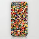 Star Cubes Geometric Art Print. iPhone & iPod Case